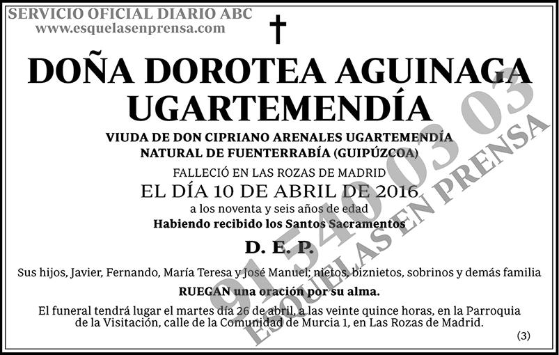 Dorotea Aguinaga Ugartemendía